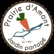 logo jardin partagé Prairie d'Amont